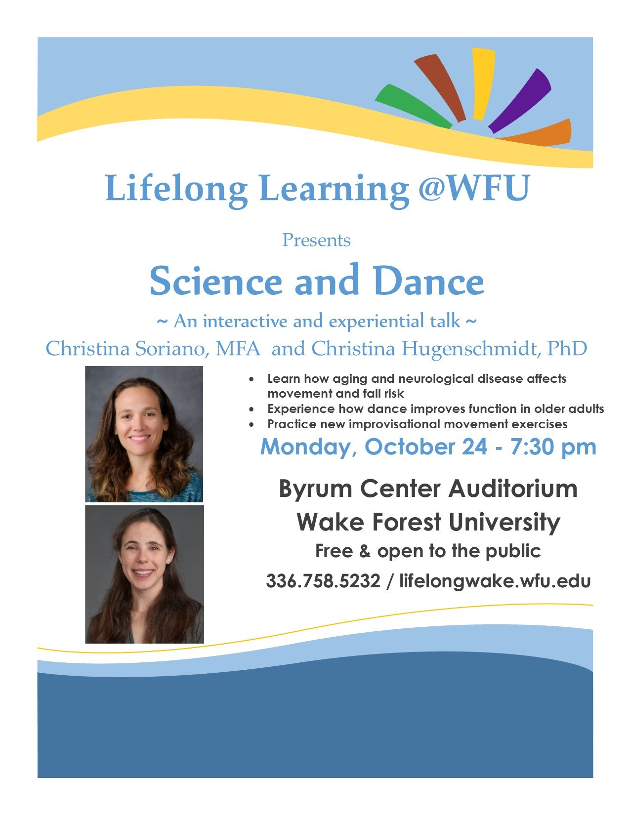 fall science and dance an interactive and experiential talk